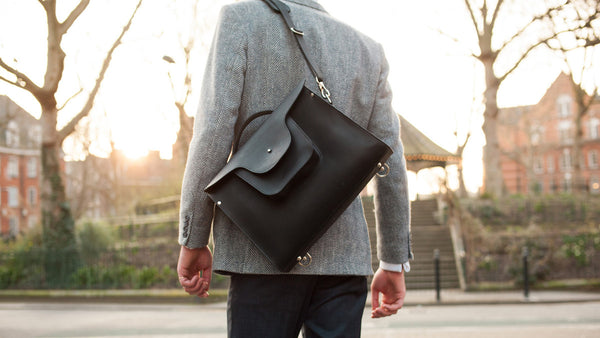 London Satchel - Black
