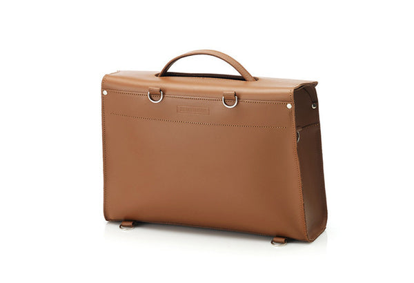 London Satchel - Tan