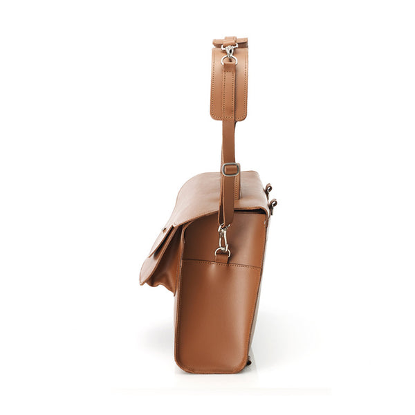 Saddle Edition - London Satchel - Whiskey Tan