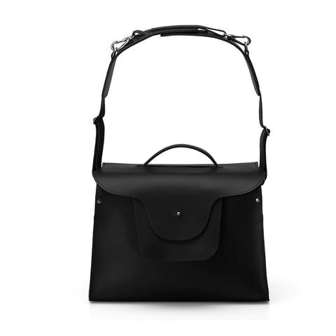 Saddle Edition - London Satchel - Night Black