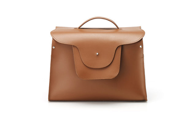 London Briefcase - Tan