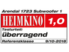 Arendal Sound 1723 Subwoofer 1 review - Heimkino