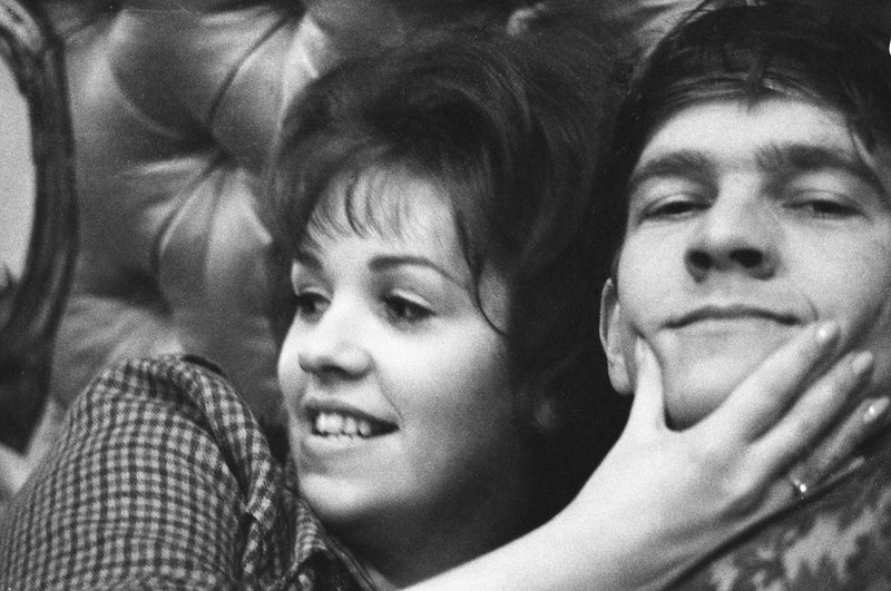 Helen Fraser & Tom Courtenay 1963