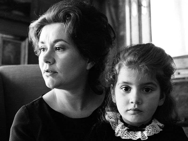 Joan Plowright & her Daughter Tasmin 1966