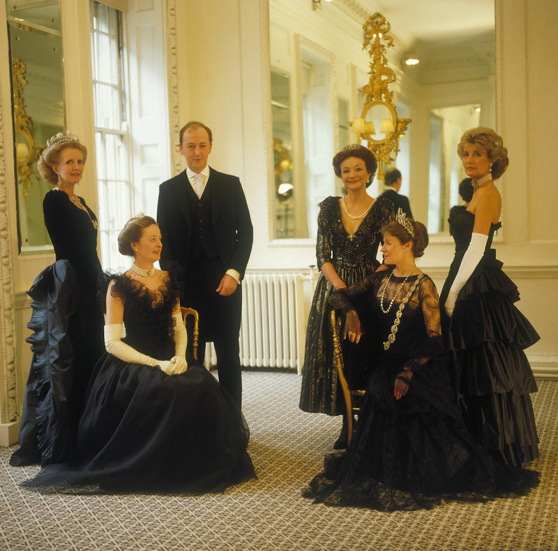 The Queen's Maids & Page of Honour 1983