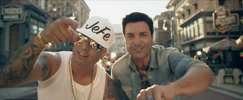 SoBe Politics Jefe Snapback Being Worn by Wisin In the Chayanne Que Me Has Hecho Video and How Well the Video Is Doing