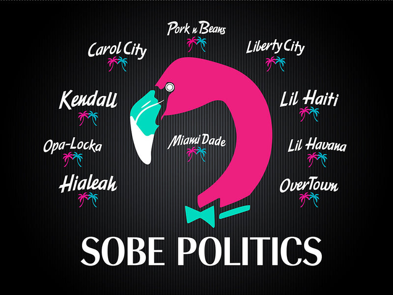 SoBe Politics, A Miami Clothing Brand that Celebrates the Many Cultures in Miami Through Fashion.