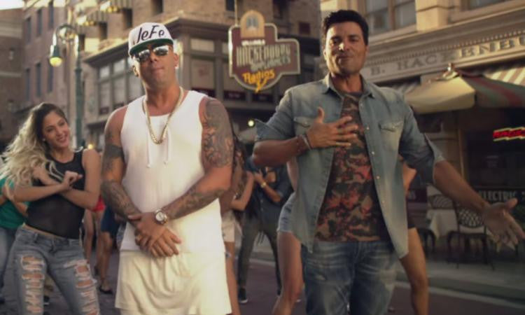 Wisin and Chayanne Behind The Scenes At The