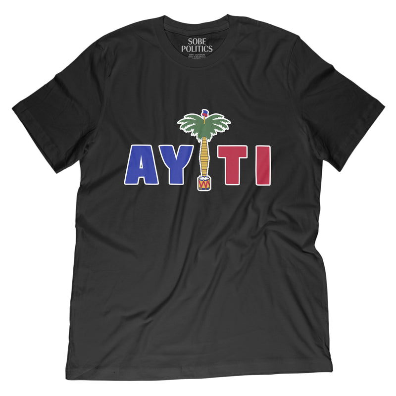 Men's Haiti T-Shirt - sobepolitics