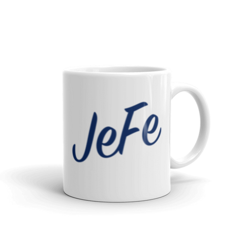 Jefe Coffee Mug (Blue)