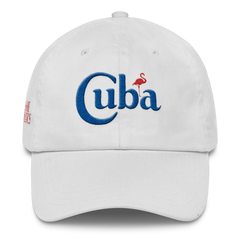 Classic White Cuba Low Profile Cap - sobepolitics
