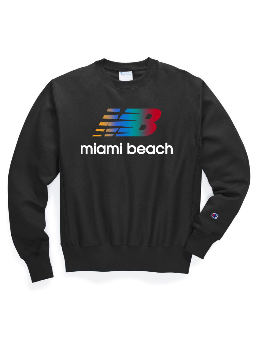 Miami Beach Champion Reverse Weave Sweatshirt