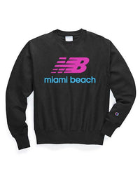 Miami Beach Champion Reverse Weave Sweatshirt - sobepolitics