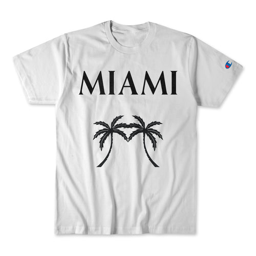 Champion Miami Palm Tree T-Shirt - sobepolitics