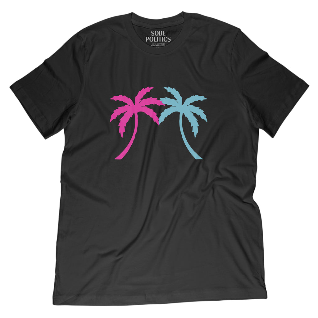 Miami Palm Tree T-Shirt - sobepolitics