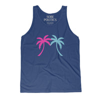 Miami Palm Tree Tank Top (Unisex) - sobepolitics