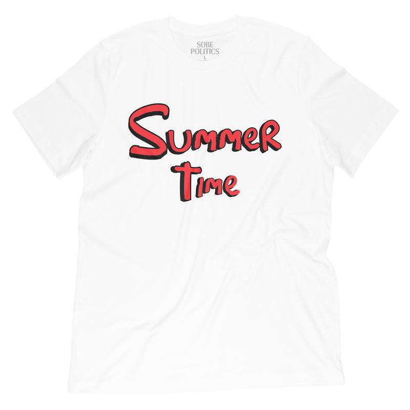 Summer Time T-Shirt - sobepolitics
