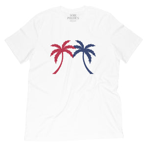 U.S. Palm Tree T-shirt - sobepolitics