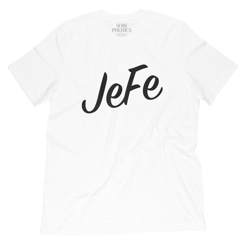 White Jefe T-Shirt