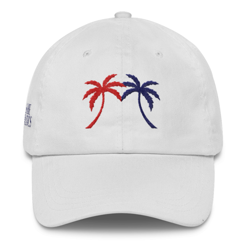 USA Miami Palm Tree Low-Profile Cap - sobepolitics
