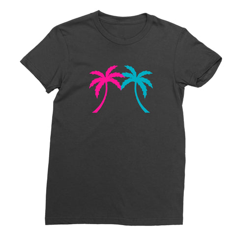 Women's Miami Palm Tree T-Shirt