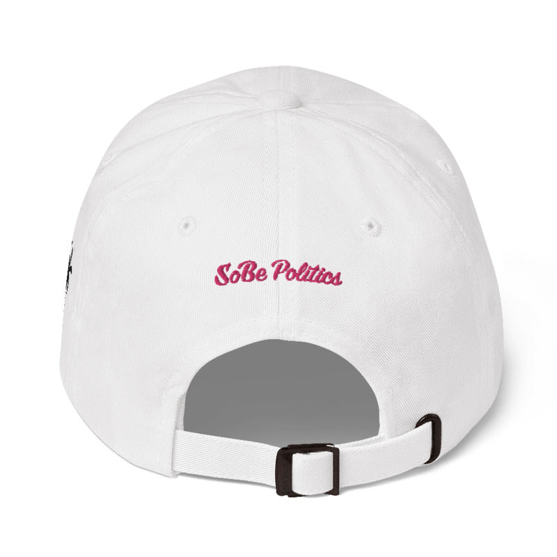 Flamingo Logo Dad Hat - sobepolitics