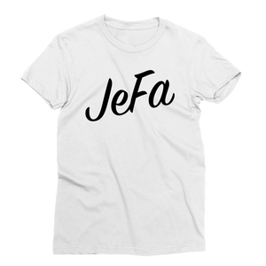 White JeFa T-Shirt - sobepolitics