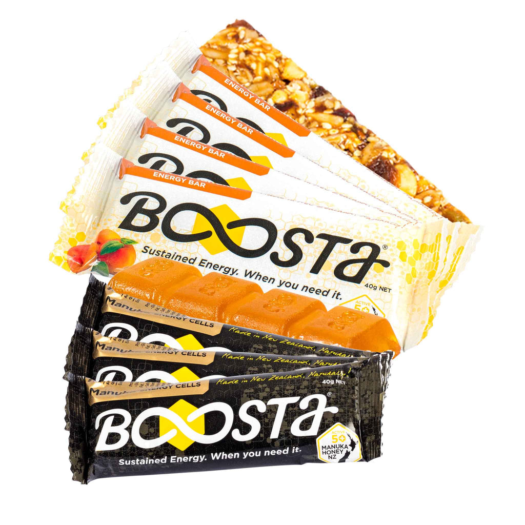 Boosta Marathon Pack - 15 Bars & 10 Chews