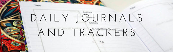 Lady Falcon Daily Journals and Trackers
