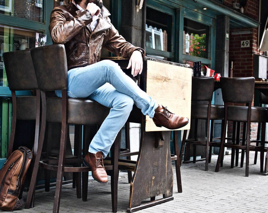 Ankle Boot Chocolate Brown Leather
