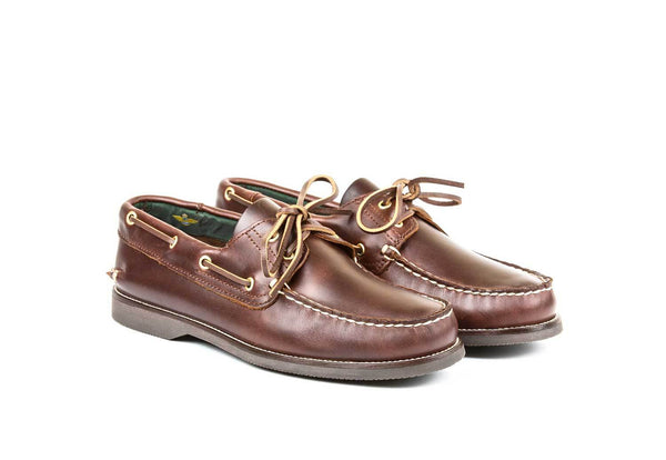 Boat Shoe Brown Leather