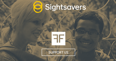 Our partnership with Sightsavers