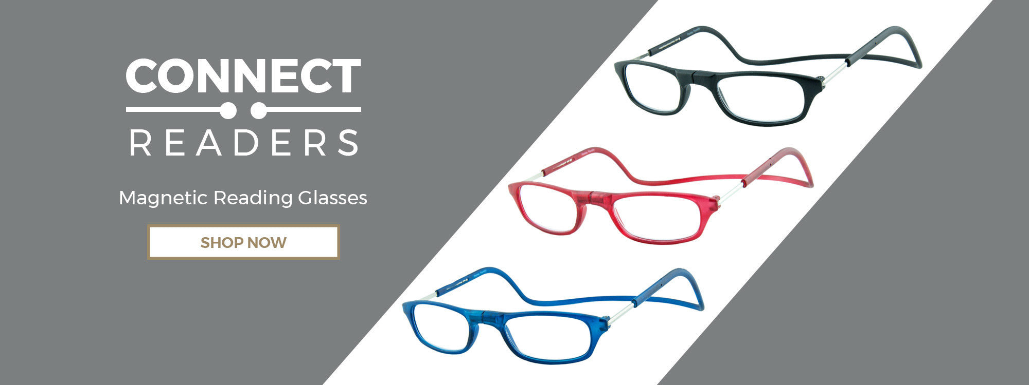 Connect Readers - Magnetic Reading Glasses