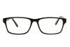 Aquarius AQ108 Black/Crystal Glasses Front