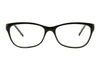AQ113 Black/Crystal Glasses Angle Front