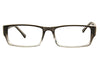 Aquarius AQ512 Unisex Grey/Crystal Glasses Front