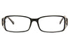 Aquarius 103 Ladies Glasses Black Front