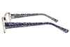 Aquarius 103 Ladies Glasses Black Side