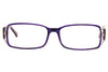 Aquarius 103 Ladies Glasses Purple Front