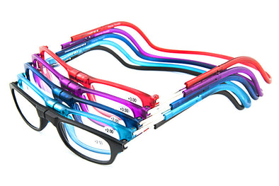 Connect Readers - Magnetic Reading Glasses with Strap