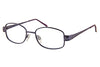 Saturn M Ladies Frame with Embossed Side Arms Lilac Angle