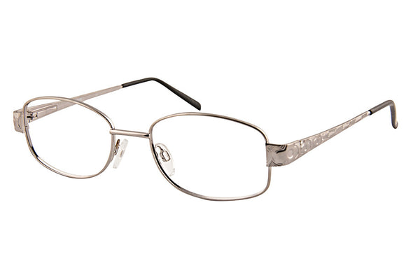 Saturn M Ladies Frame with Embossed Side Arms Silver