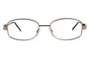 Saturn M Ladies Frame with Embossed Side Arms Silver Front