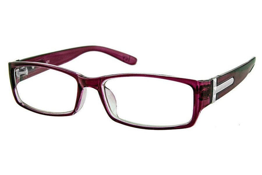 d99303004423 Icy 145 Ladies Rectangular Plastic Frame in Crystal Cherry   Black – Frames  Foundry