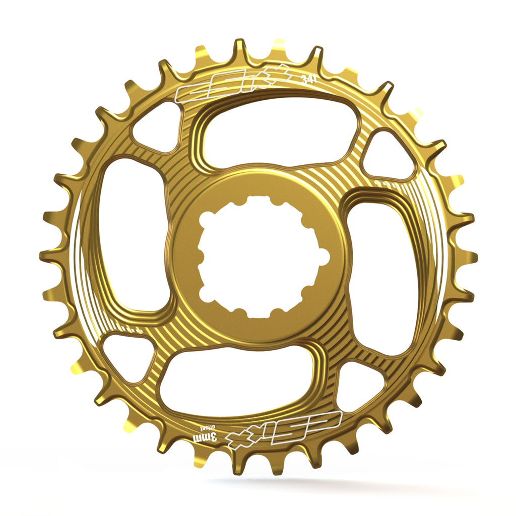 Gold Chainrings