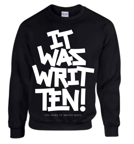 """It Was WritTEN"" Crew Neck Sweatshirt"
