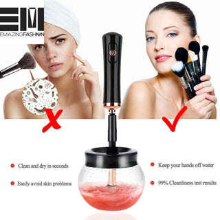 Pro Electric Makeup Brush Cleaner & Dryer Set Make Up