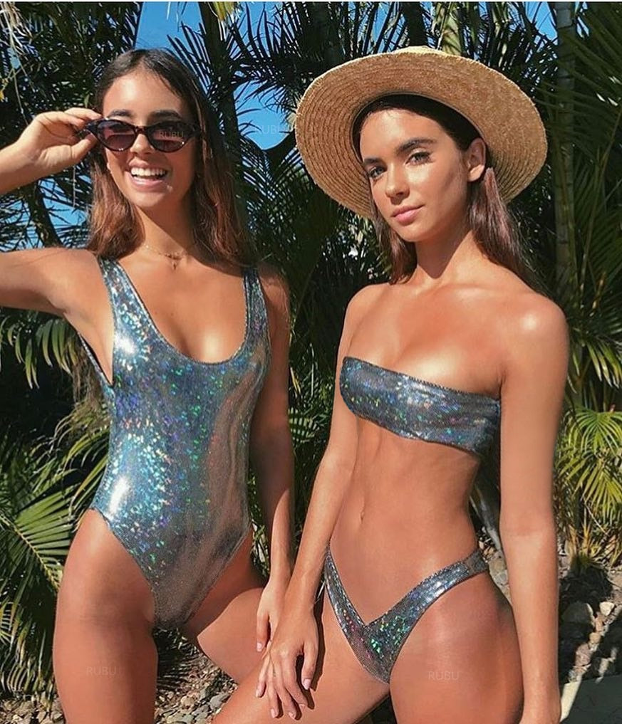 Sequin Swimwear Set