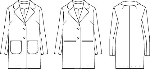 Classic Coat illustration