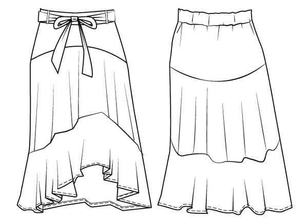 summer skirt sewing pattern